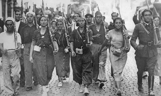 Tema IV: Violencia proletaria frente a violencia burguesa (guerra popular revolucionaria)