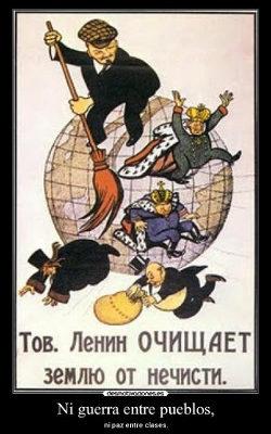 La lucha contra el imperialismo es la lucha contra el capitalismo
